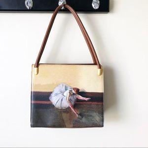 Icon of Los Angeles Ballerina Leather Shoulder Bag